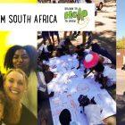 Drawn to help  to draw – Postkarte von Mona aus Südafrika