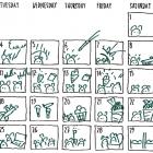 Kundentipp – Der Neuland® Kalender als Storyboard